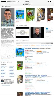 """Unsere Autorenseite, Bestseller """"Lucy, das liebe Seeungeheuer"""""""